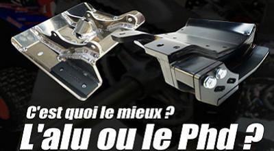 Les protections aluminium contre les protections en PHD